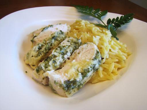 recipe: pesto orzo chicken [15]