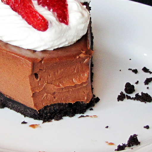 You'd Never Guess it was Vegan Chocolate Silk Pie