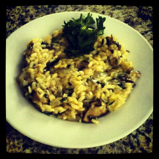 Homemade Mushroom Risotto Rumbly In My Tumbly