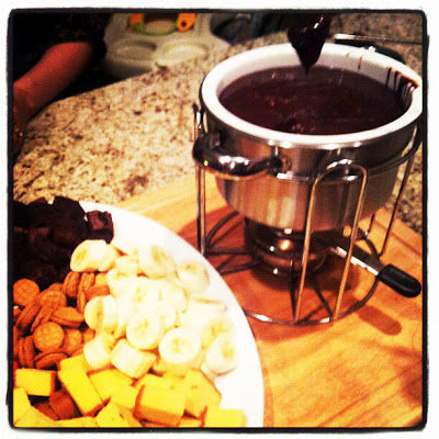 """""""Melting Pot"""" Chocolate Peanut Butter Fondue 