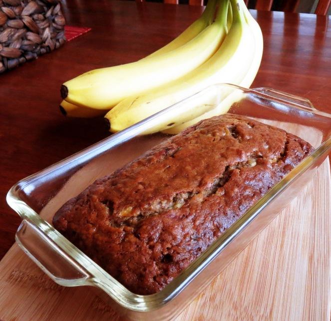 Rumbly in my Tumbly I Loaded Banana Bread