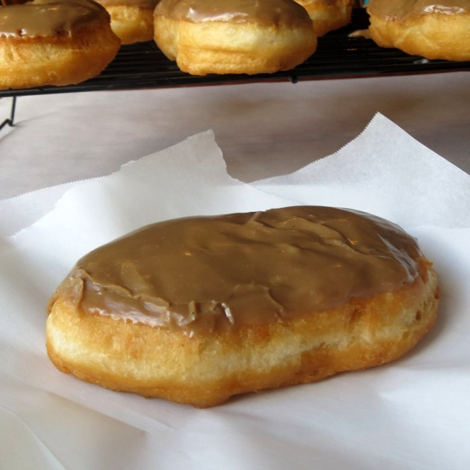 Rumbly in my Tumbly: Homemade maple bars using refrigerated biscuit dough