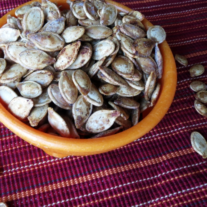 How to roast perfect pumpkin seeds I Rumbly in my Tumbly