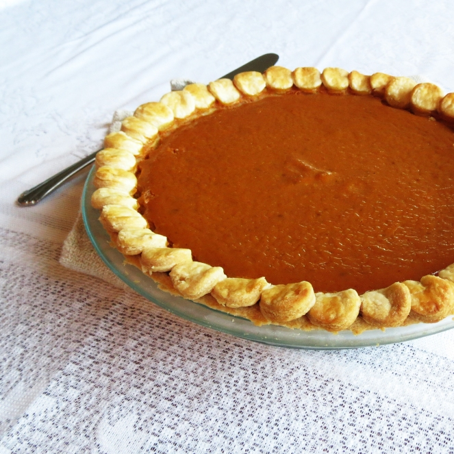 Pumpkin Pie with Perfectly Easy Pie Crust
