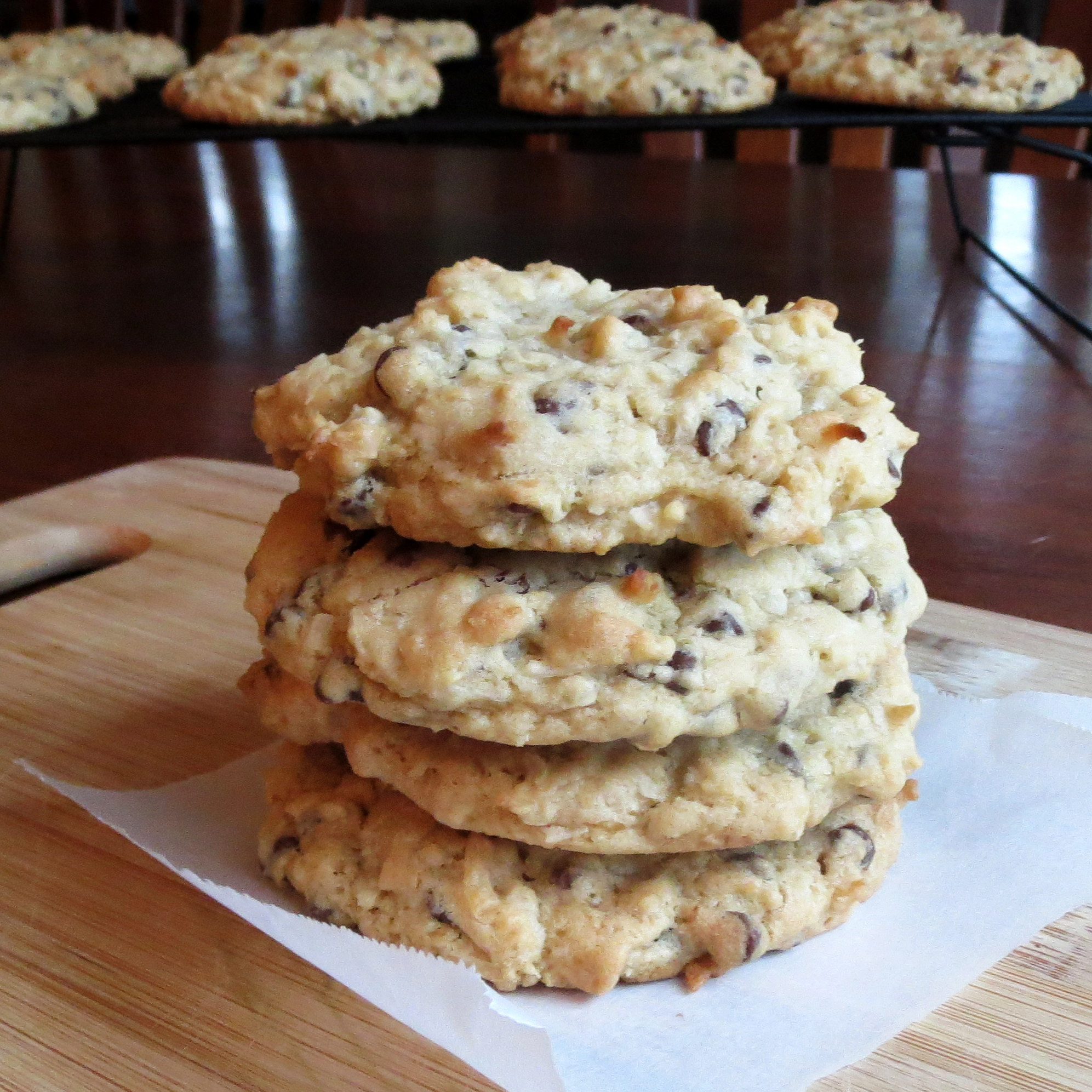 It's a Wonderful Coconut Chocolate Chip Cookie – Rumbly in my Tumbly