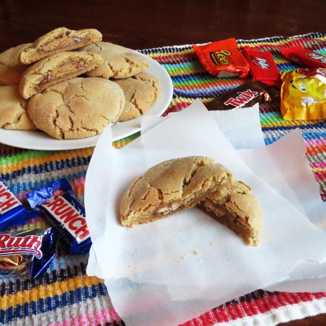 Peanut Butter Peek-a-boo Cookies