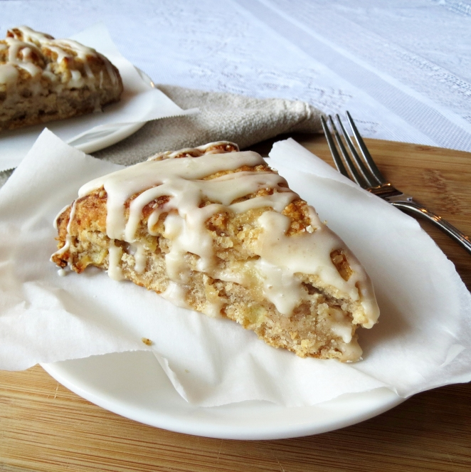 Apple Pie Scones I Rumbly in my Tumbly