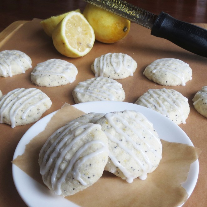 "Lemon Poppyseed ""Muffin Top"" Cookies by Rumbly in my Tumbly"