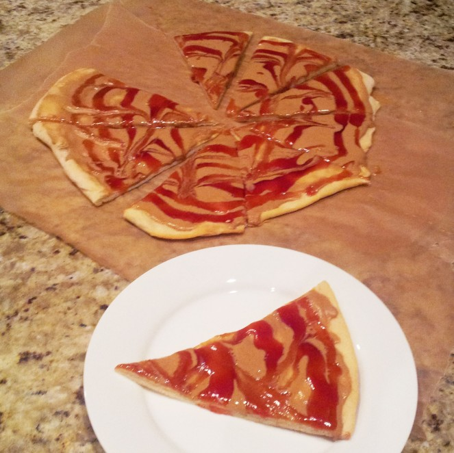 Goofy S Kitchen Peanut Butter And Jelly Pizza