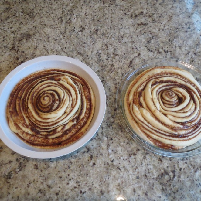 Rumbly in my Tumbly - Cinnamon Roll Pie