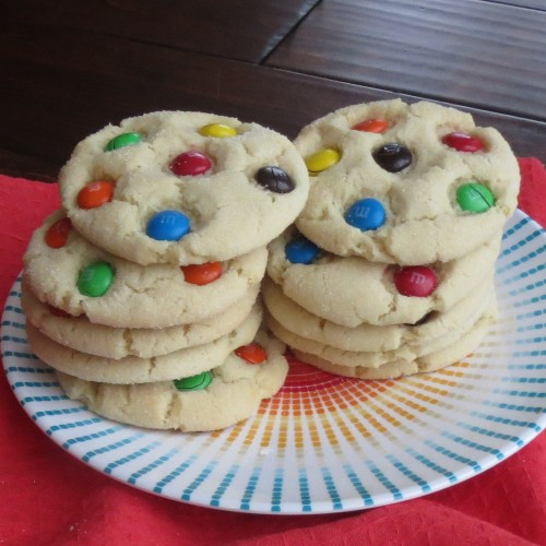 Shopping Mall M&M Sugar Cookies