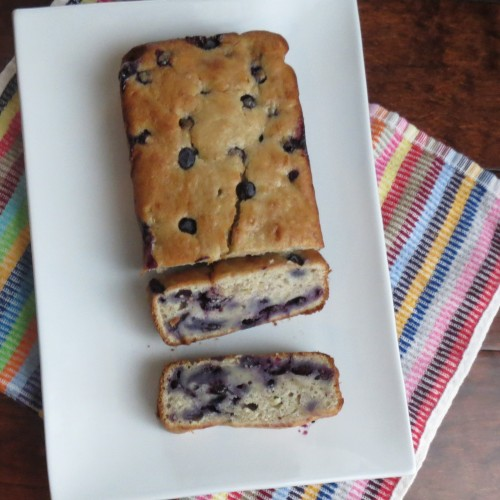 Blueberry Banana Bread (Rumbly in my Tumbly)