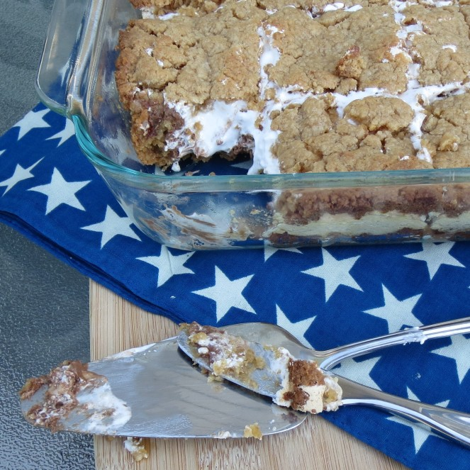 IBaked S'mores Bars by Rumbly in my Tumbly