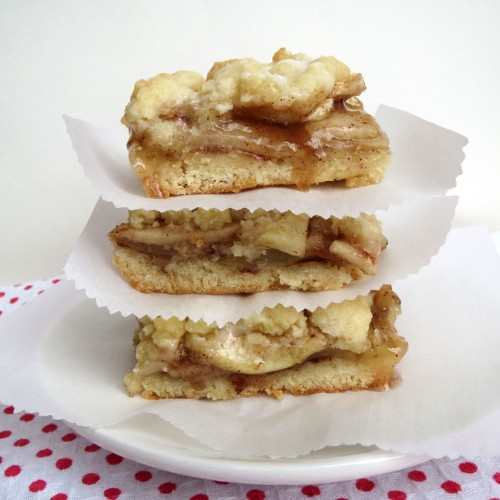 Rumbly in my Tumbly Apple Streusel Bars