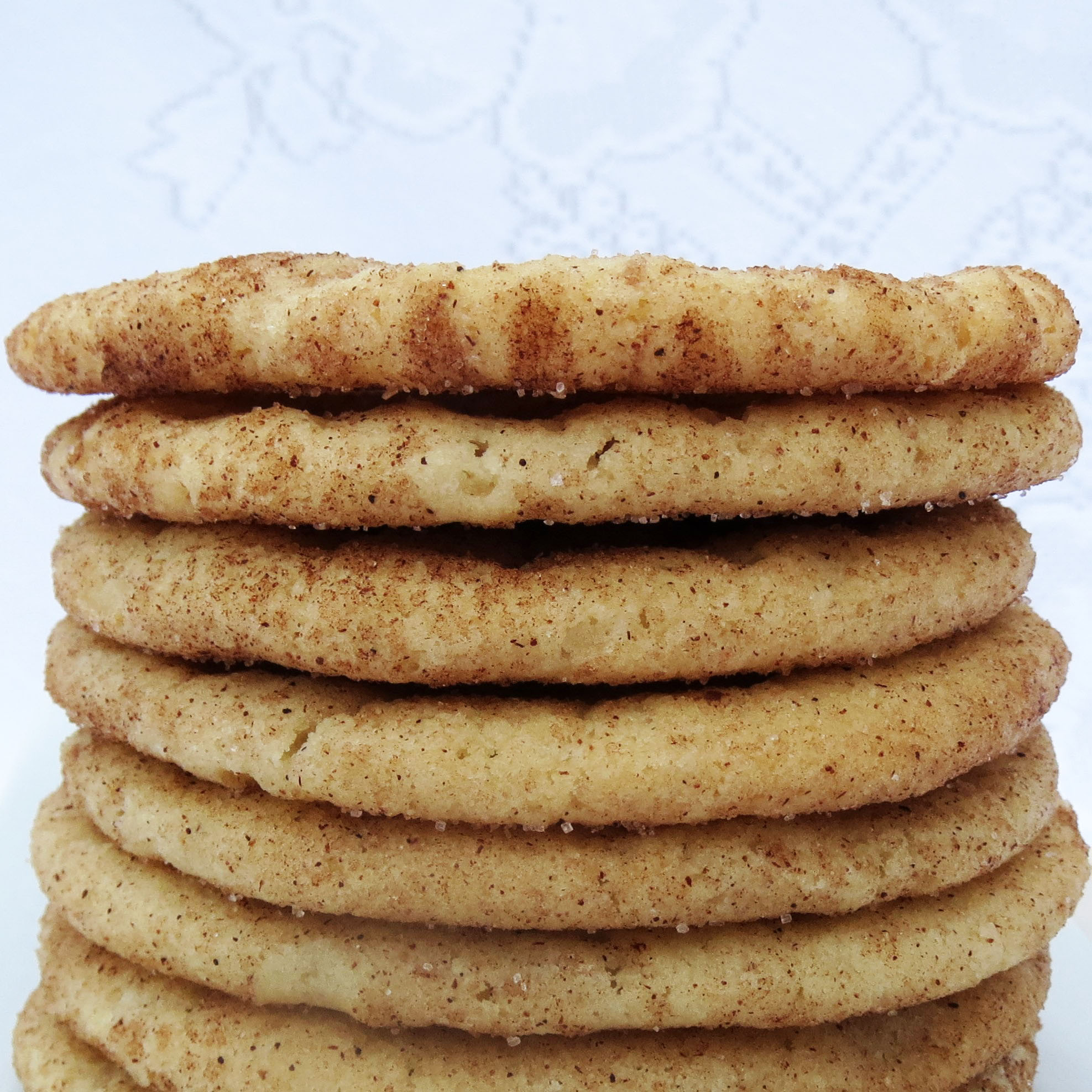 Cinnamon Sugar Cookies | Rumbly in my Tumbly