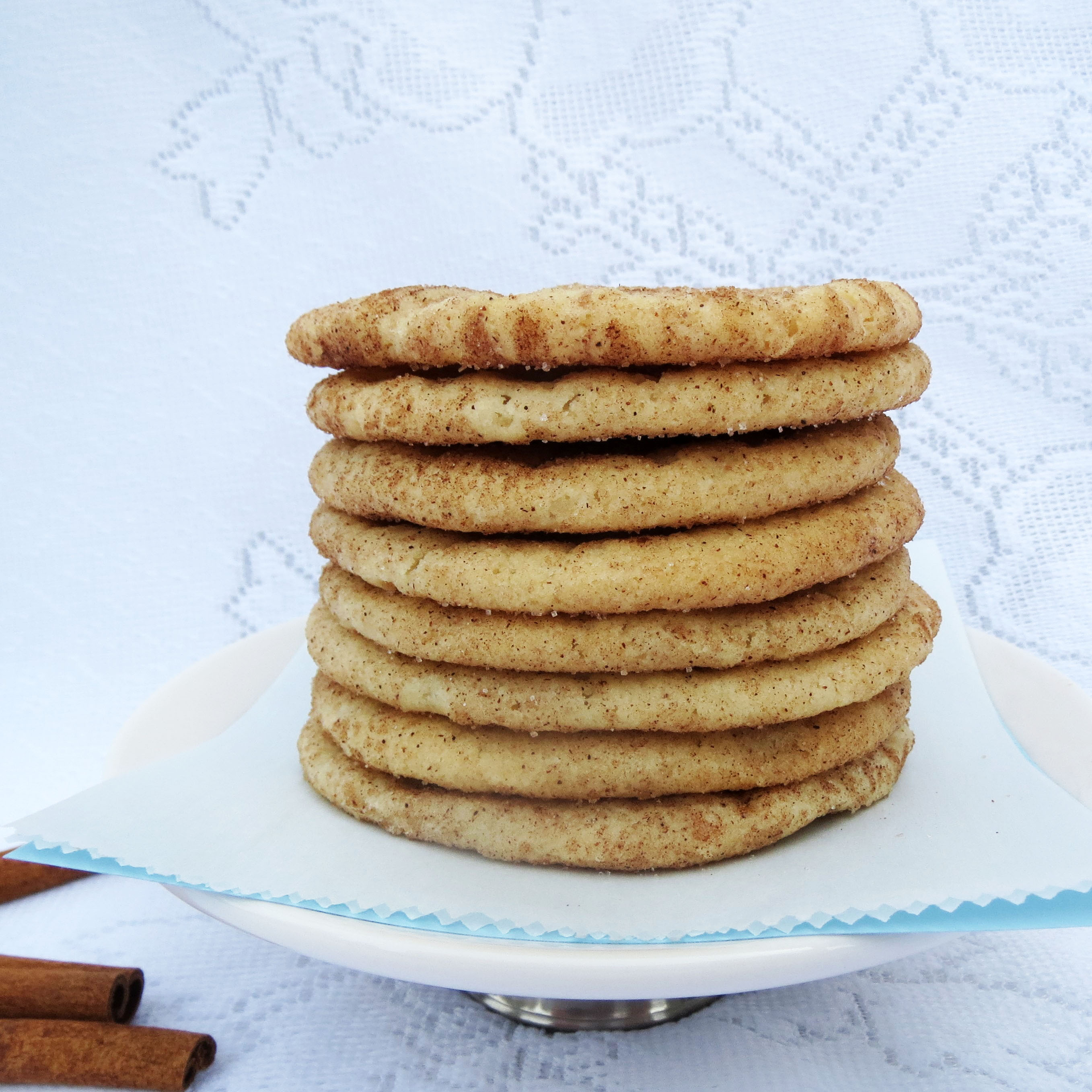 Cinnamon Sugar Cookies – Rumbly in my Tumbly