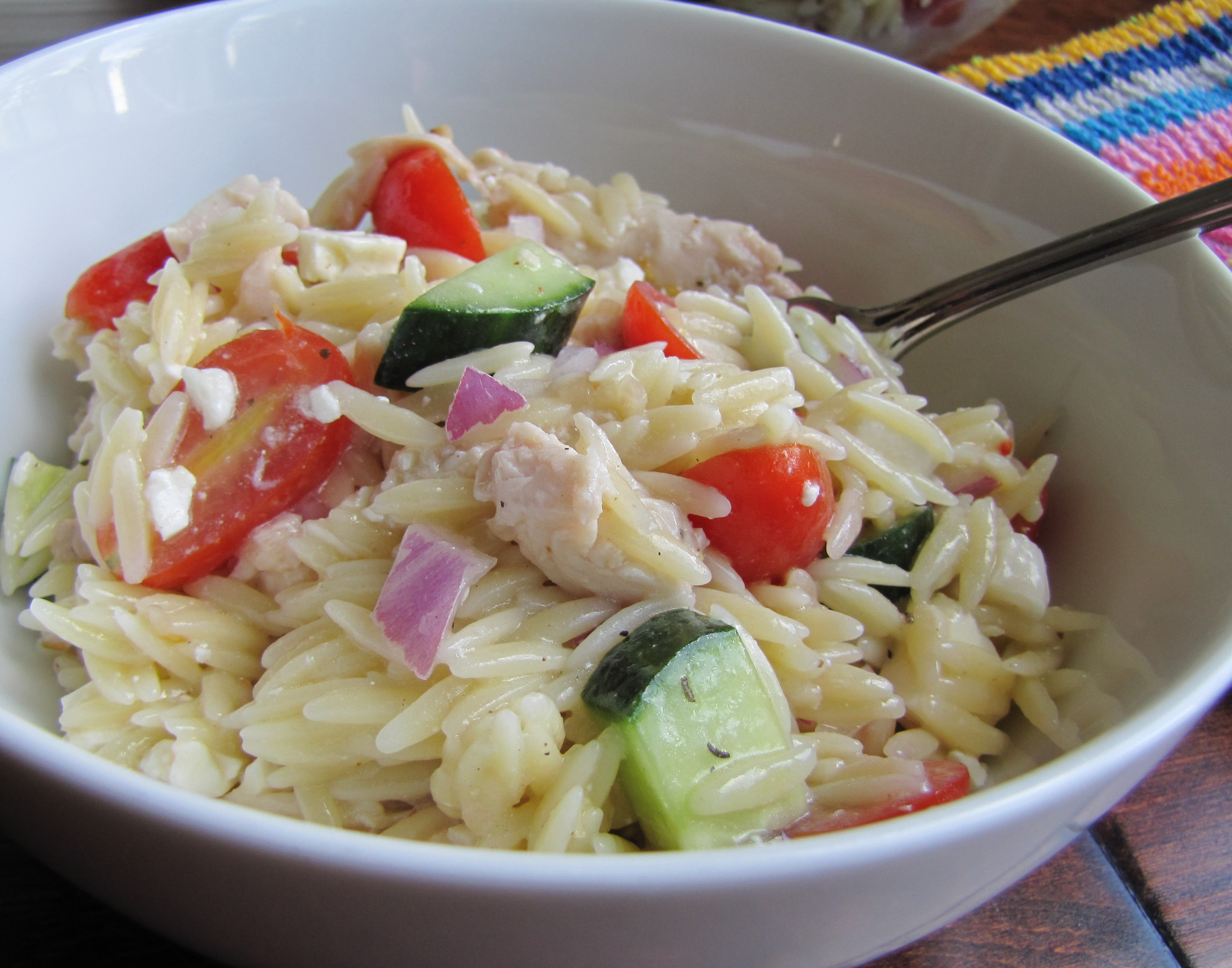 Celery And Olive Orzo Salad Recipe — Dishmaps