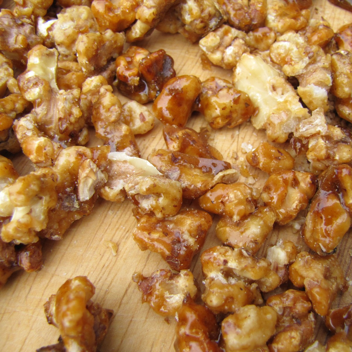 Candied Walnuts for Salads