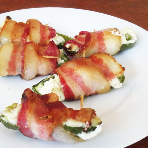 Bacon Wrapped Jalapeno Poppers by Rumbly in my Tumbly