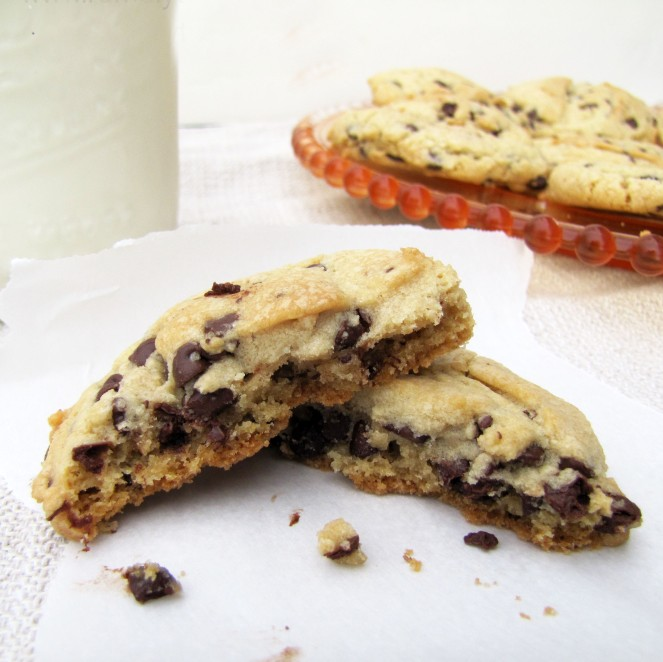 The Best Soft and Chewy Chocolate  Chip Cookies by Rumbly in my Tumbly