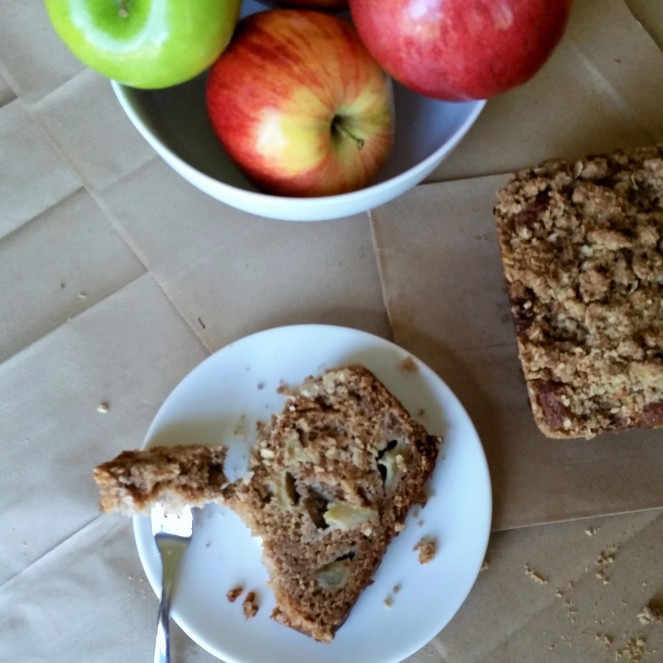 Spiced Applesauce Streusel Bread by Rumbly in my Tumbly