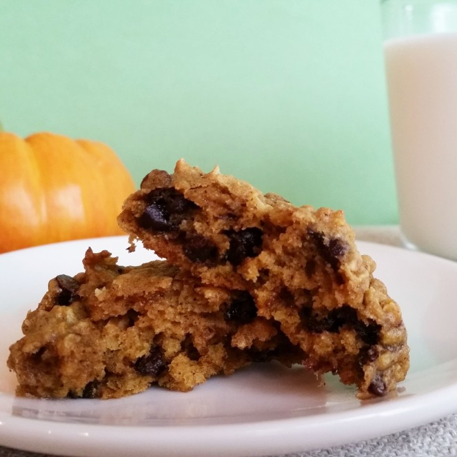 The Best Oatmeal Pumpkin Cookies by Rumbly in my Tumbly
