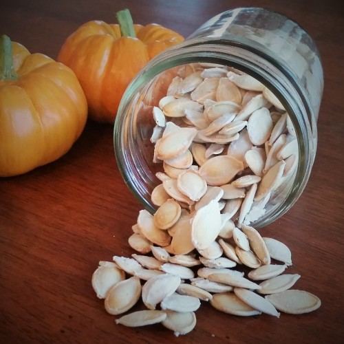 The Best Way to Clean and Roast Perfect Pumpkin Seeds by Rumbly in my Tumbly