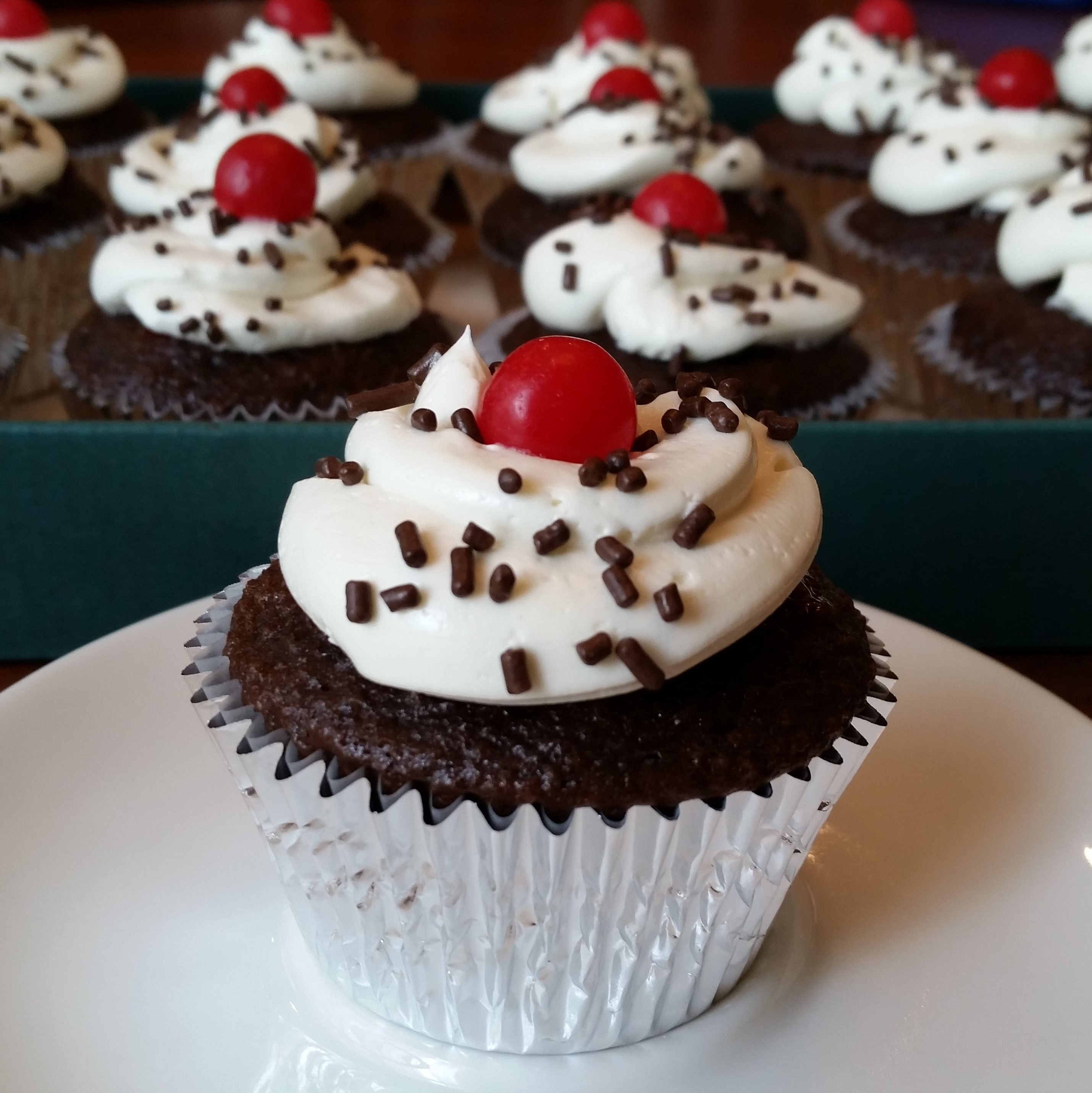 Black Forest Cupcakes Rumbly In My Tumbly