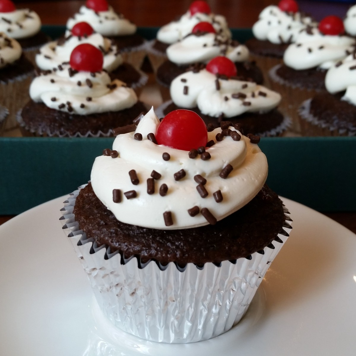 Black Forest Cupcakes – Rumbly in my Tumbly