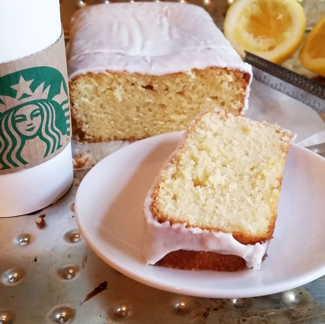 Starbucks Iced Lemon Pound Cake by Rumbly in my Tumbly