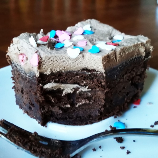 Chocolate Sour Cream Cake by Rumbly in my Tumbly
