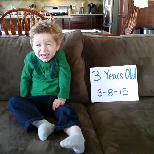 Charlie turns 3!