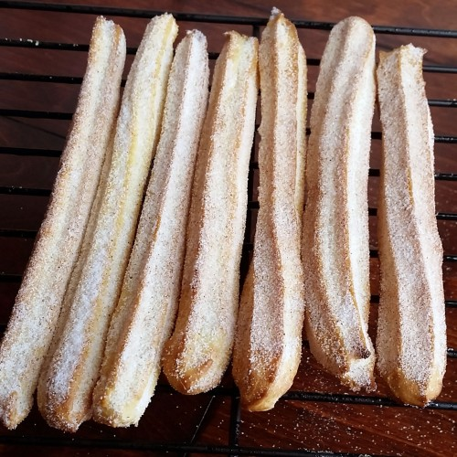 Baked Churros – Same Taste, Less Guilt by Rumbly in my Tumbly
