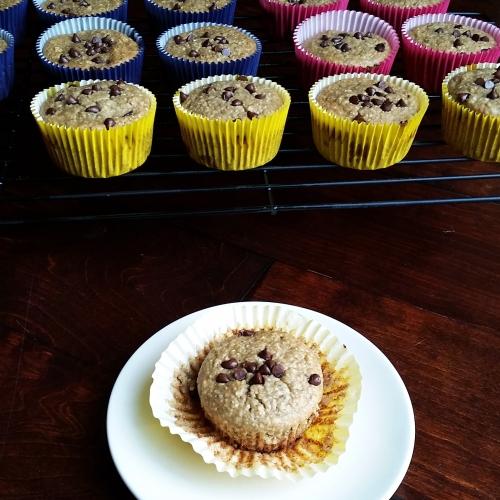 Gluten-Free, Healthy Banana Breakfast Muffins - Kid Approved!