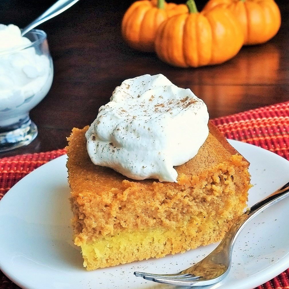 Pumpkin Gooey Butter Cake – Rumbly in my Tumbly