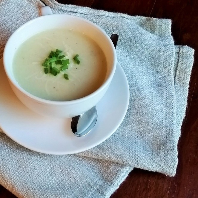 Winter White Root Vegetable Soup by Rumbly in my Tumbly