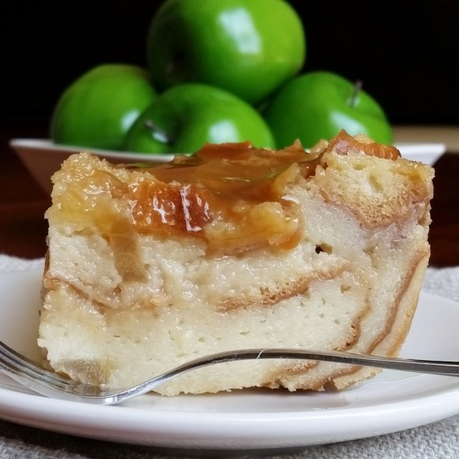 Caramel Apple Bread Pudding by Rumbly in my Tumbly