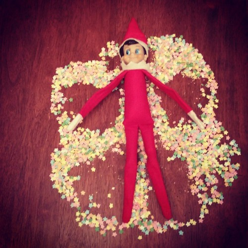 Sprinkle Snow Angel