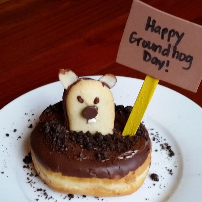 Groundhog Day Donuts by Rumbly in my Tumbly