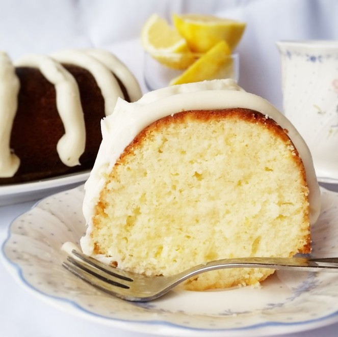 Homemade Lemon Nothing Bundt Cake by Rumbly in my Tumbly
