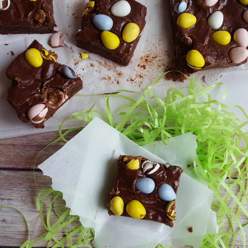 Easter Egg Brownies by Rumbly in my Tumbly