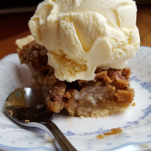 Southern Boy Pecan Pie.  (Recipe courtesy of Randall and Renee Burton) -  Rumbly in my Tumbly