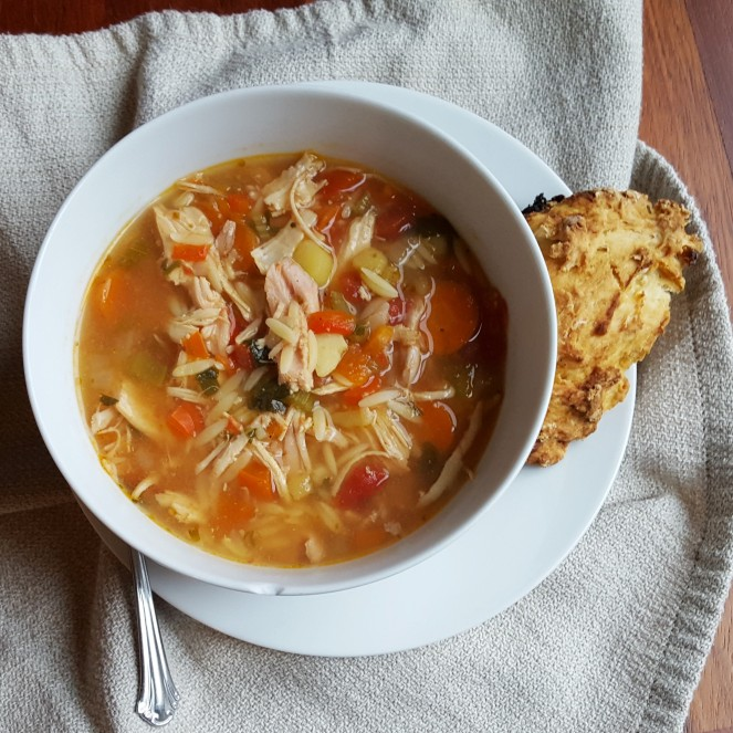Sicilian Chicken Soup by Rumbly in my Tumbly