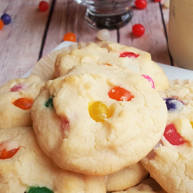 Jelly Bean Cookies by Rumbly in my Tumbly