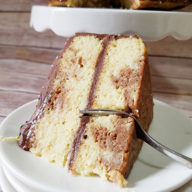 Marble Cake - Rumbly in my Tumbly
