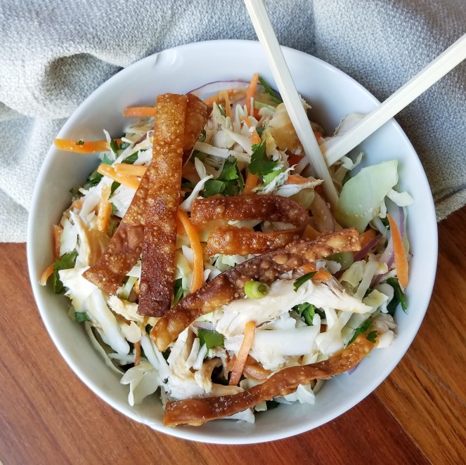 Chrissy Teigen's Chinese Chicken Salad - Rumbly in my Tumbly