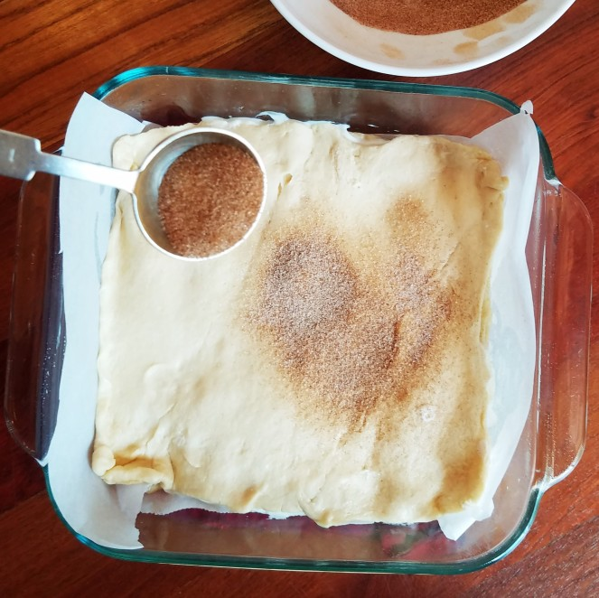 Easy Sopapilla Cheesecake using Pillsbury Crescent Rolls by Rumbly in my Tumbly
