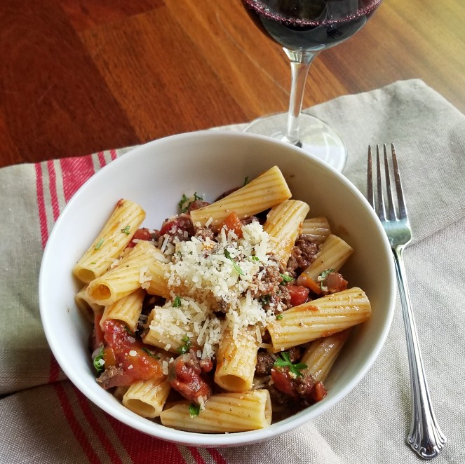 Michael Symon's Rigatoni with Meat Sauce by Rumbly in my Tumbly
