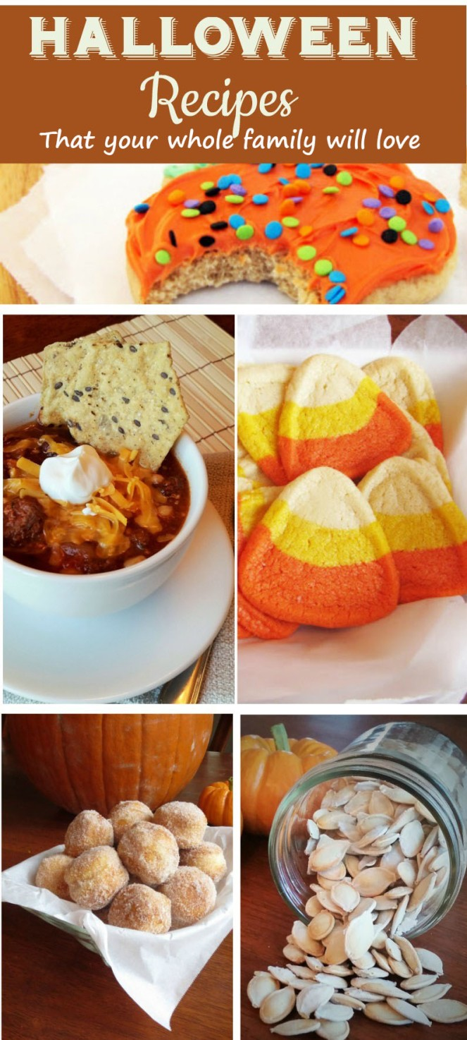 Halloween Recipes that your whole family will love