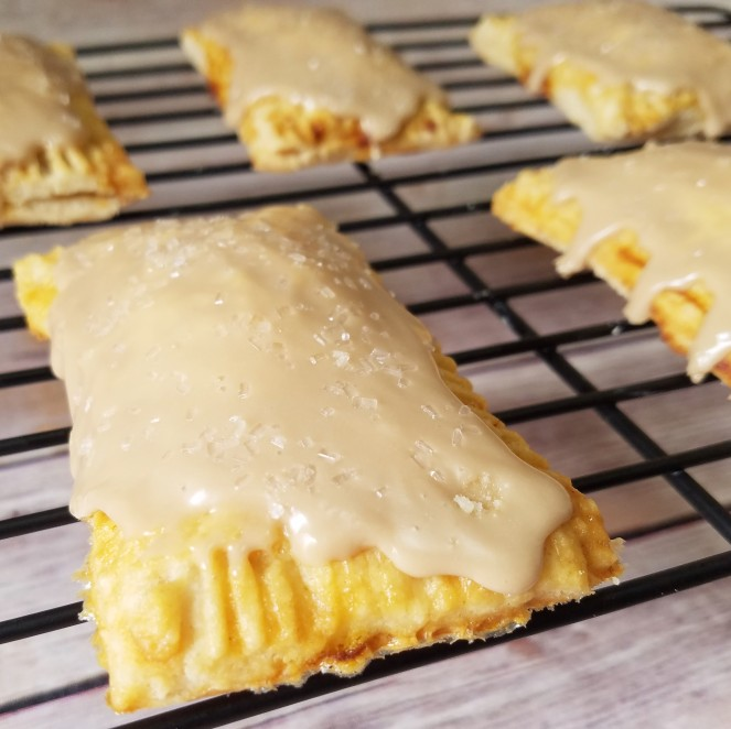 Pumpkin Pie Pop-Tarts with Maple Glaze by Rumbly in my Tumbly